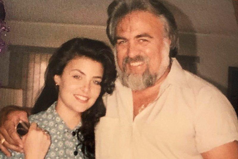 Шерилин Фенн с отцом