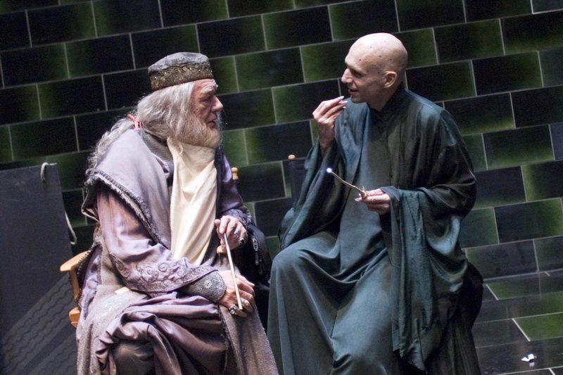Волан-де-Морт и Дамблдор