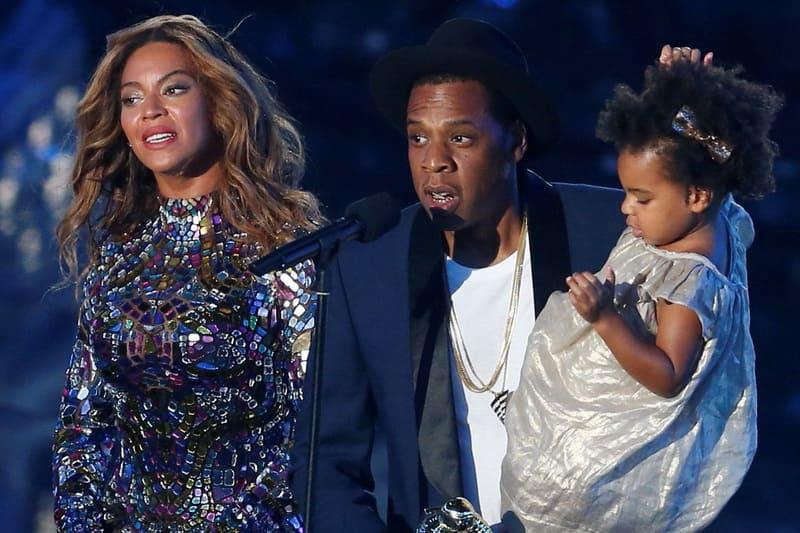 Бейонсе и Jay-Z с дочкой
