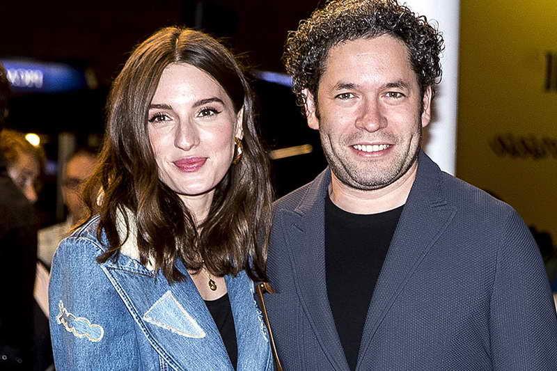 Густаво Дудамель и Мария Вальверде
