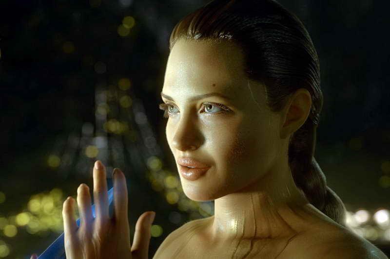 Беовульф Анджелина Джоли
