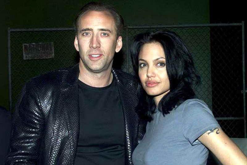 Николас Кейдж и Джоли