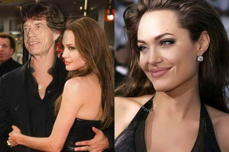 Мик Джаггер и Джоли
