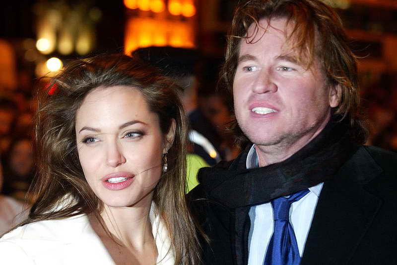 Вэл Килмер с Анджелиной
