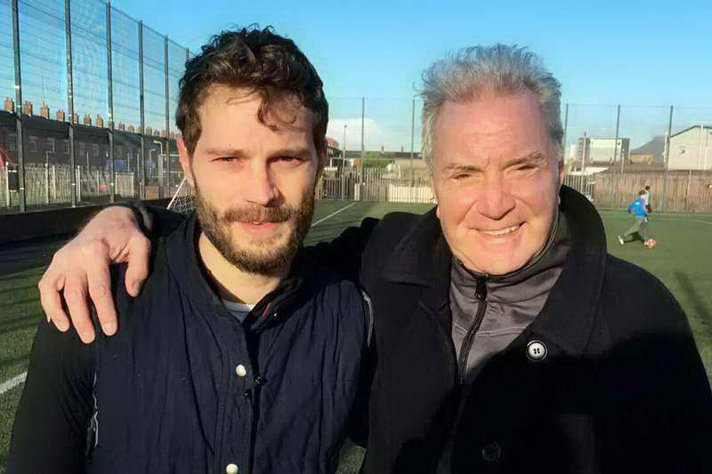 Джейми Дорнан с отцом