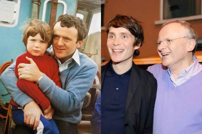 Киллиан с отцом Бренданом Мерфи