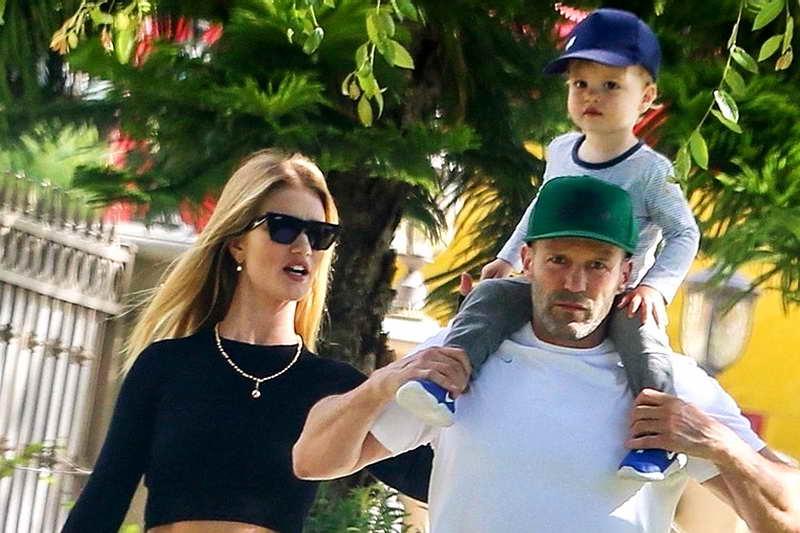 Джейсон Сейтем и Роузи с сыном